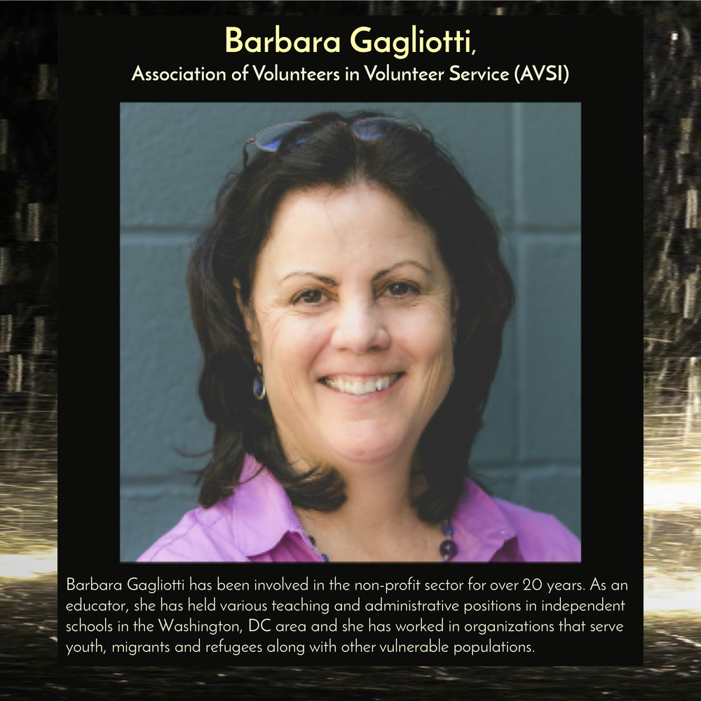 """Barbara Gagliotti, Foundations Relations Manager,  Association for Volunteers in International Service ,will speak at  11am on Saturday, Sept 29, 2018 in the Trust Arts Center (805 Liberty Ave, Pittsburgh) , as part of a panel discussion,""""Migrants: Not Numbers, but People."""""""