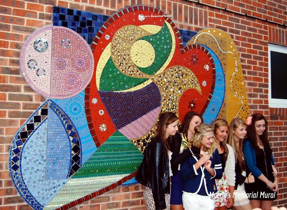 Mosaic murals for secondary schools