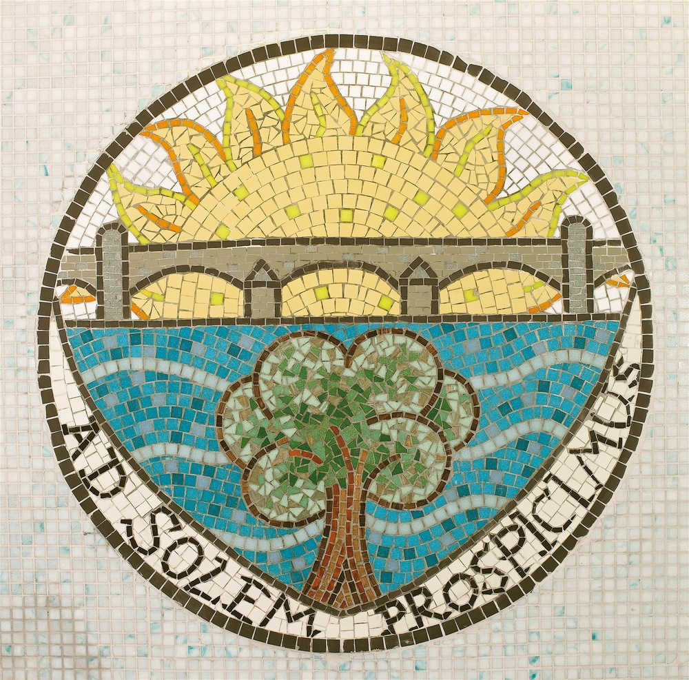 Creating local council coat of arms artwork.