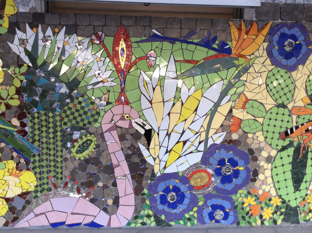Isidora Paz Lopez, Chile. Mosaic murals for public areas.