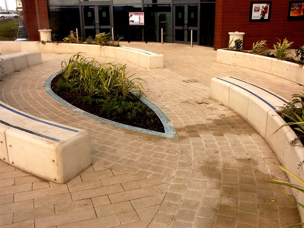 Mosaic artist public spaces