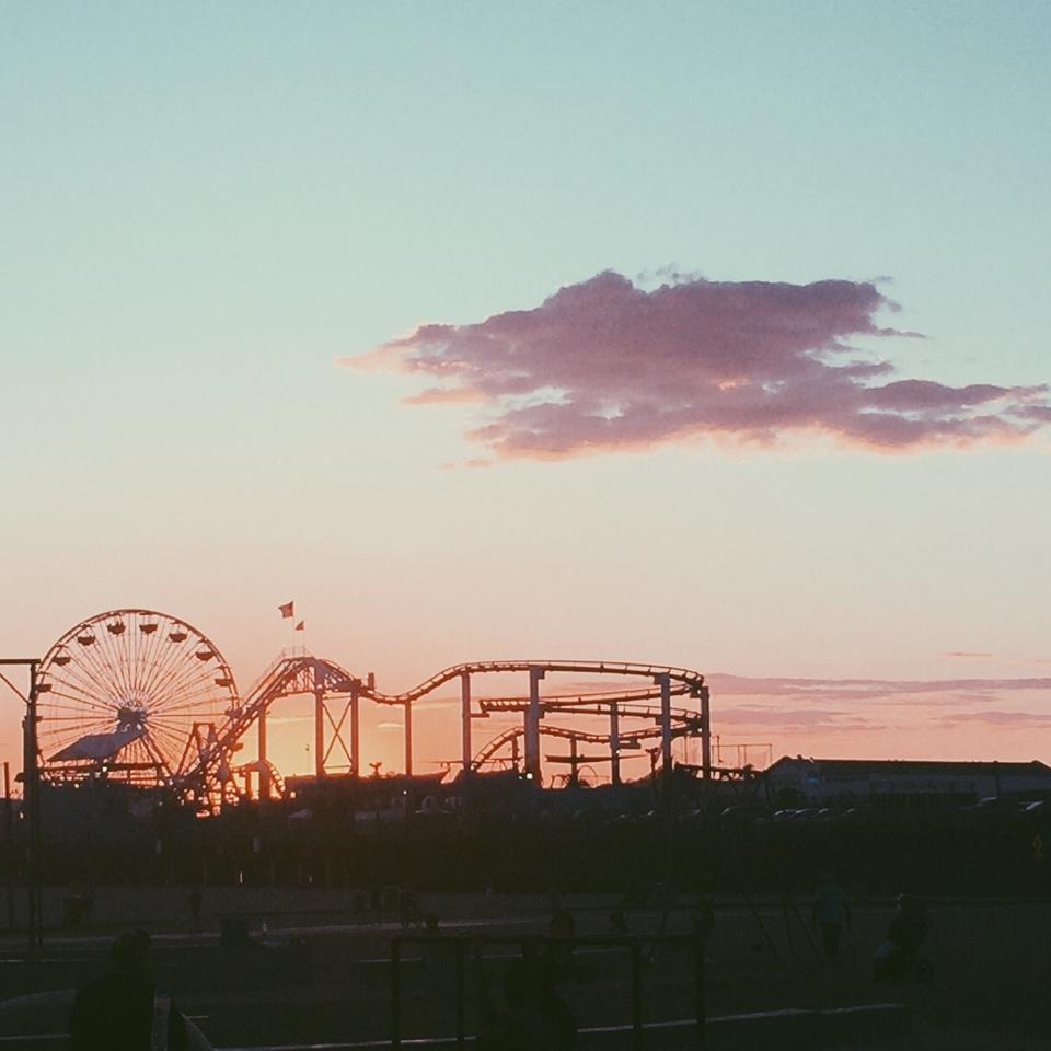 Santa Monica sunset for @galisfly