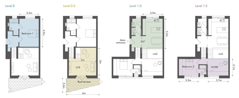 Apartment 1 at 83 Weston Street
