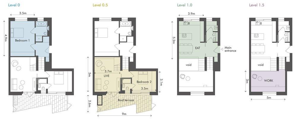 Apartment 2 at 85 Weston Street