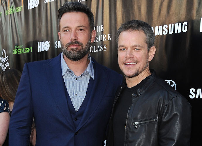 Ben Affleck Commemorates National Best Friends Day With Matt Damon Photo