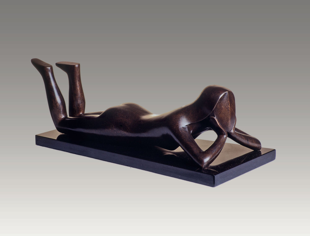 Daydreamer (bronze) 5 x 20 x 7 inches Edition of 4