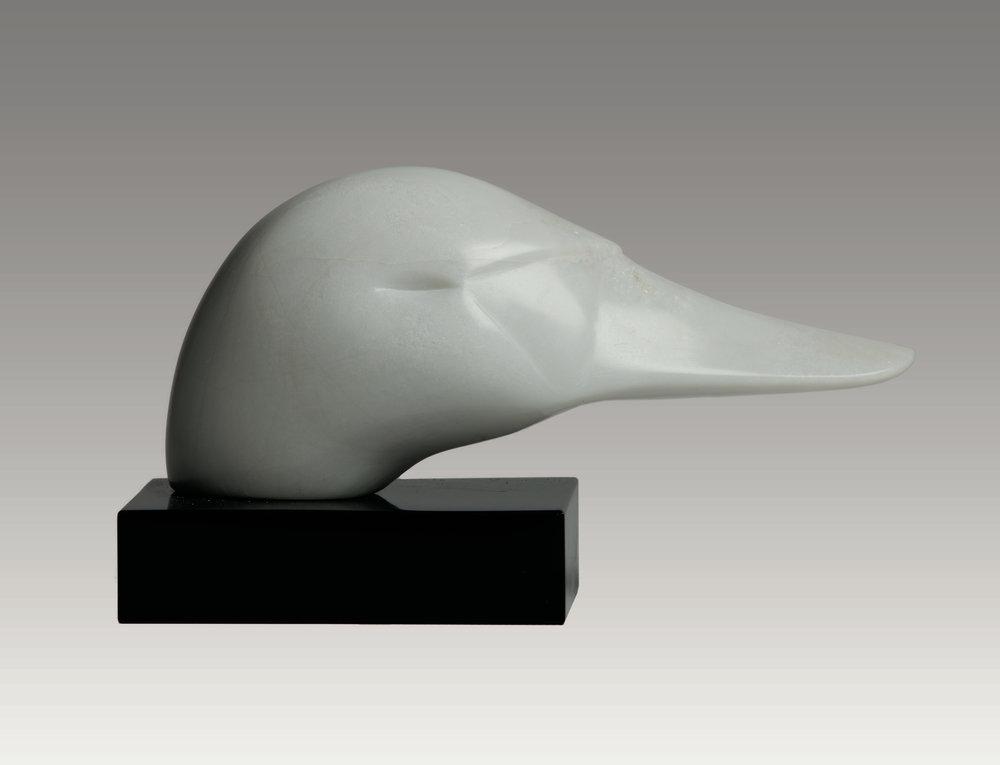 Swan Head 6x14x7 Soapstone.jpg