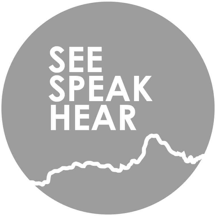 see speak hear