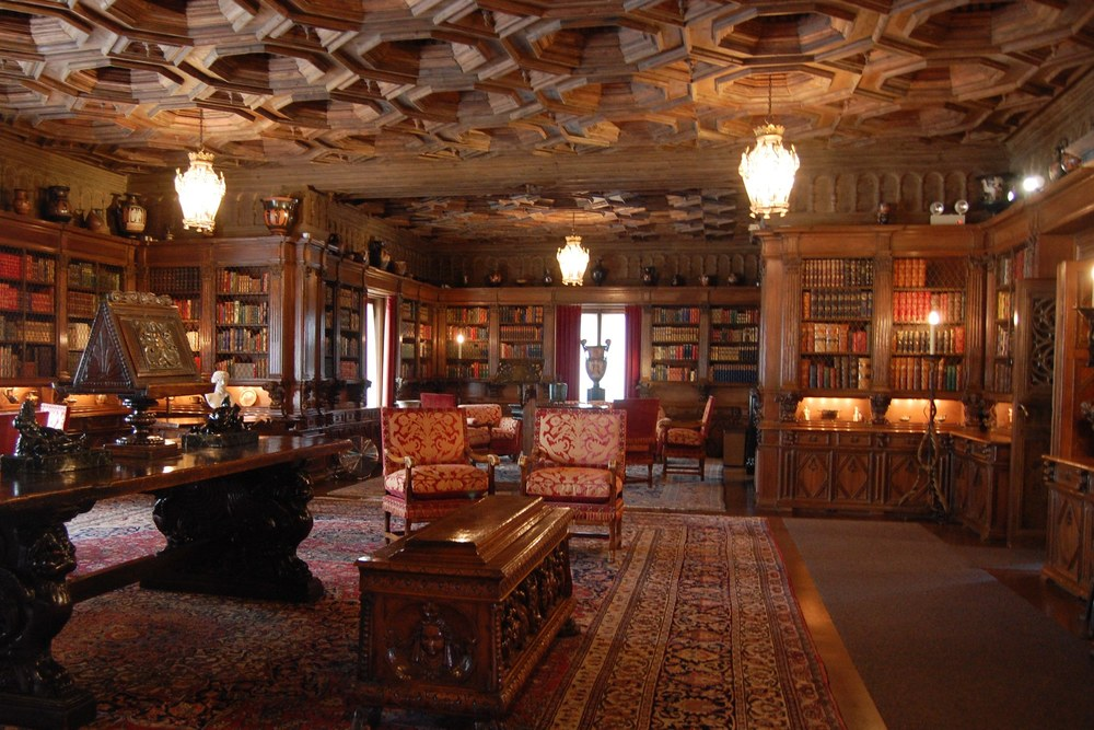 Hearst Castle Grand Library.  Filosoph