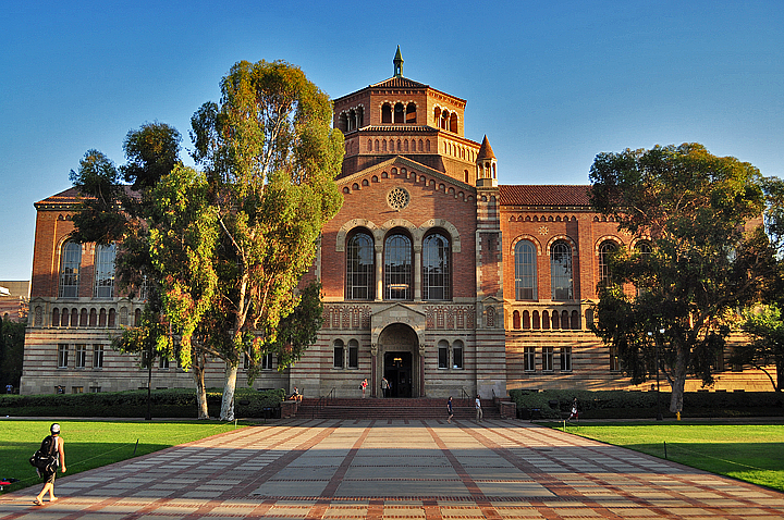UCLA's Powell Library.   CampusGrotto