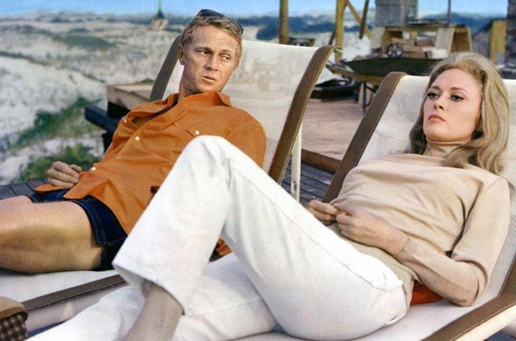 Hard chilling Steve McQueen.