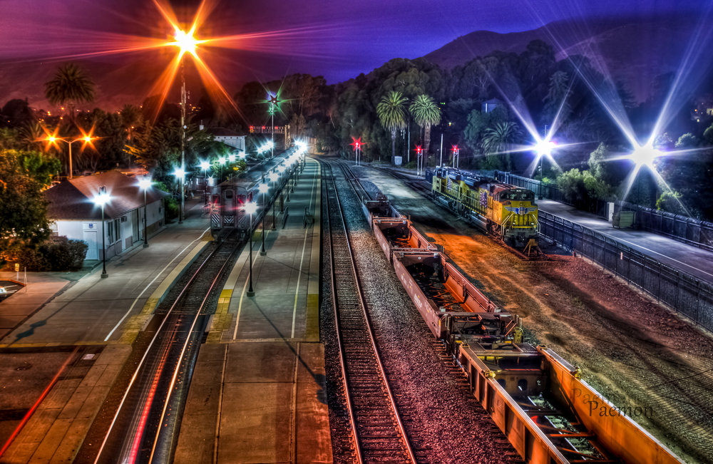 The SLO Train Station in all its glory.  Paemon