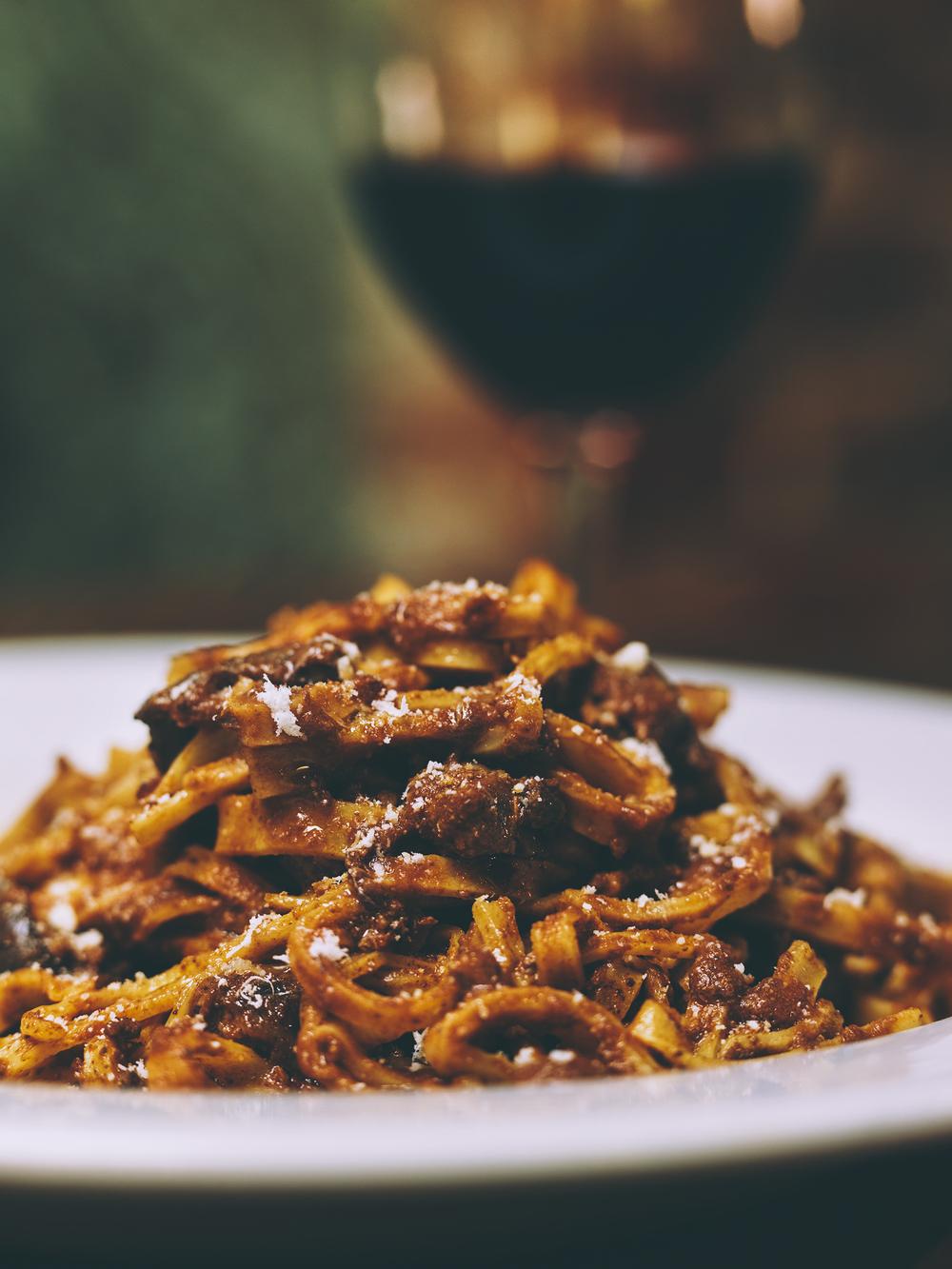 bolognese pasta terroni italian toronto eating dining