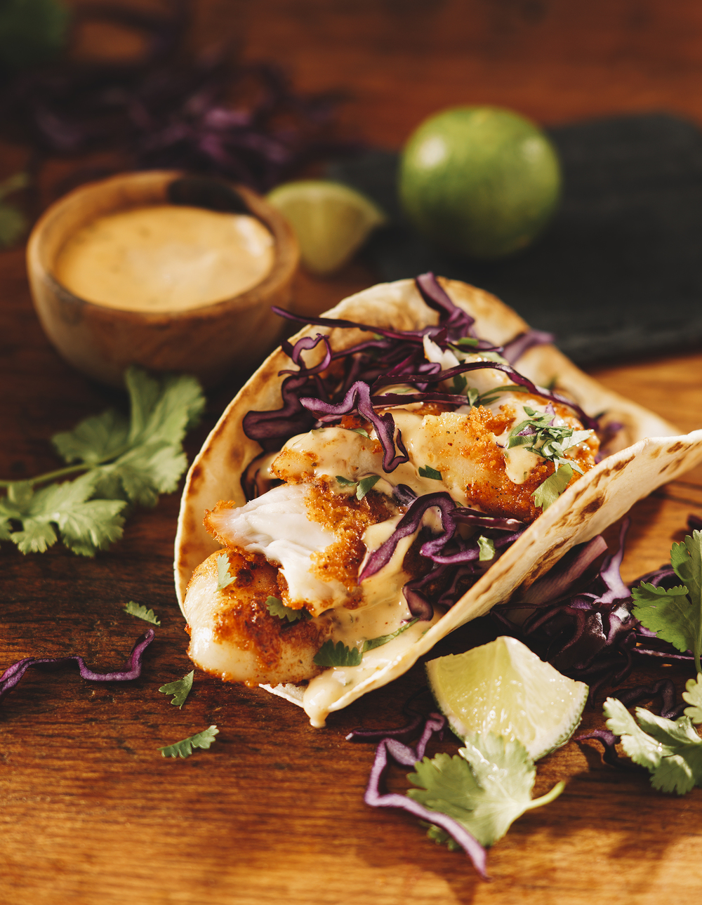 fish tacos old el paso packaging toronto photographer