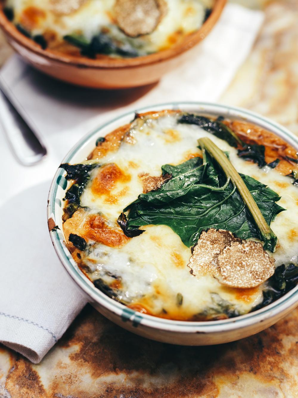 edulis restaurant truffles soup cheese dinner toronto