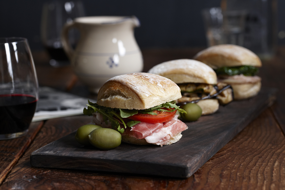 terroni sandwiches italian eating lunch photographers