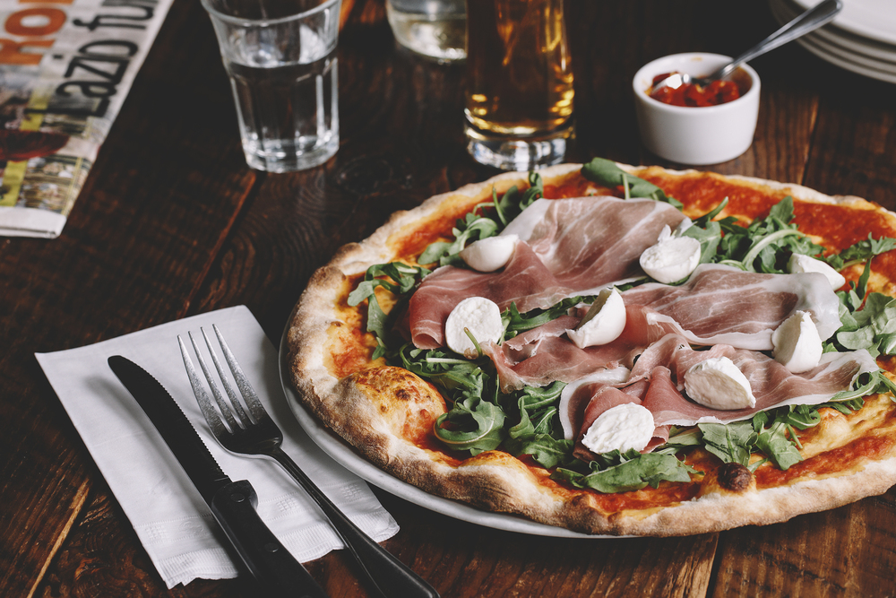 terroni pizza toronto restaurant italian advertising photography