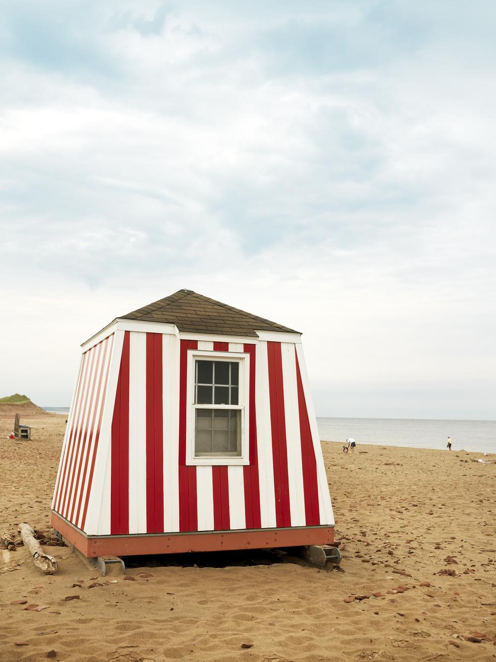 beach hut prince edward county canada travel jim norton