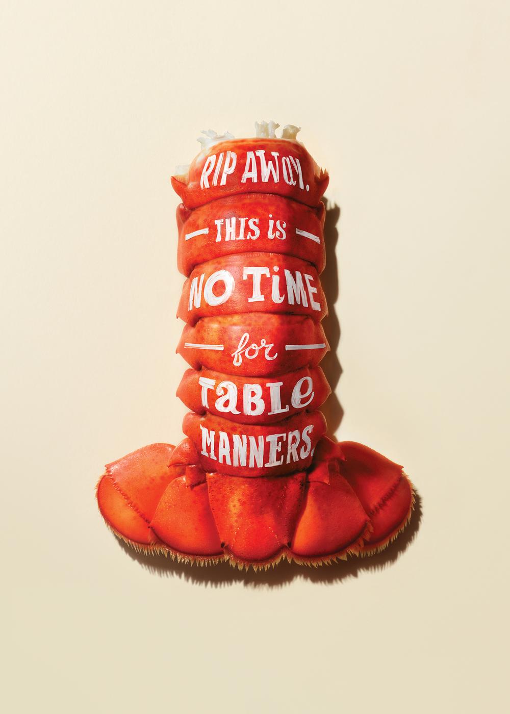 lobster tail advertising jim norton toronto
