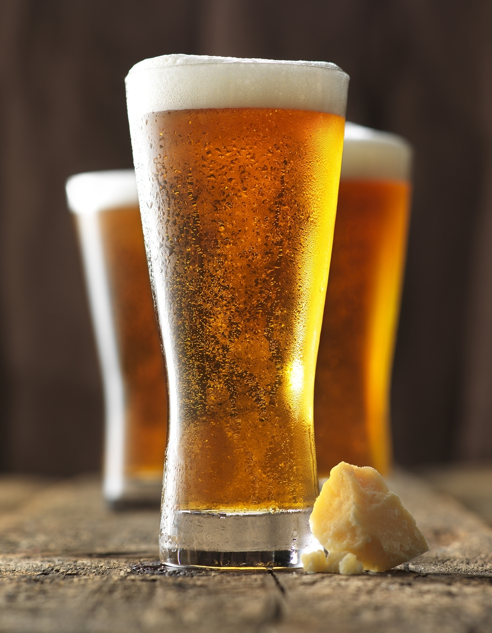 refreshing beer pints cheese pairings editorial photographer