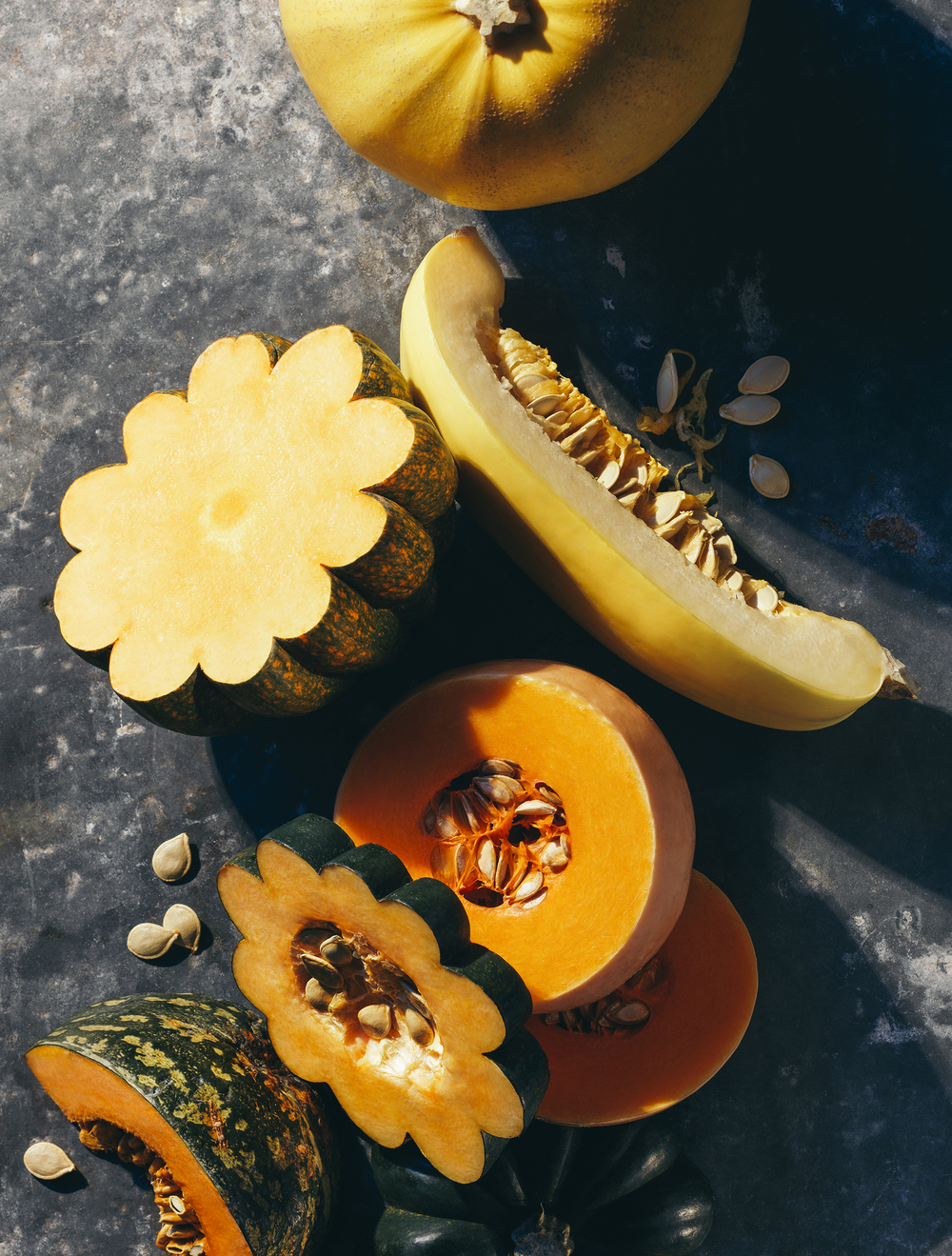 squash varieties still life editorial best health
