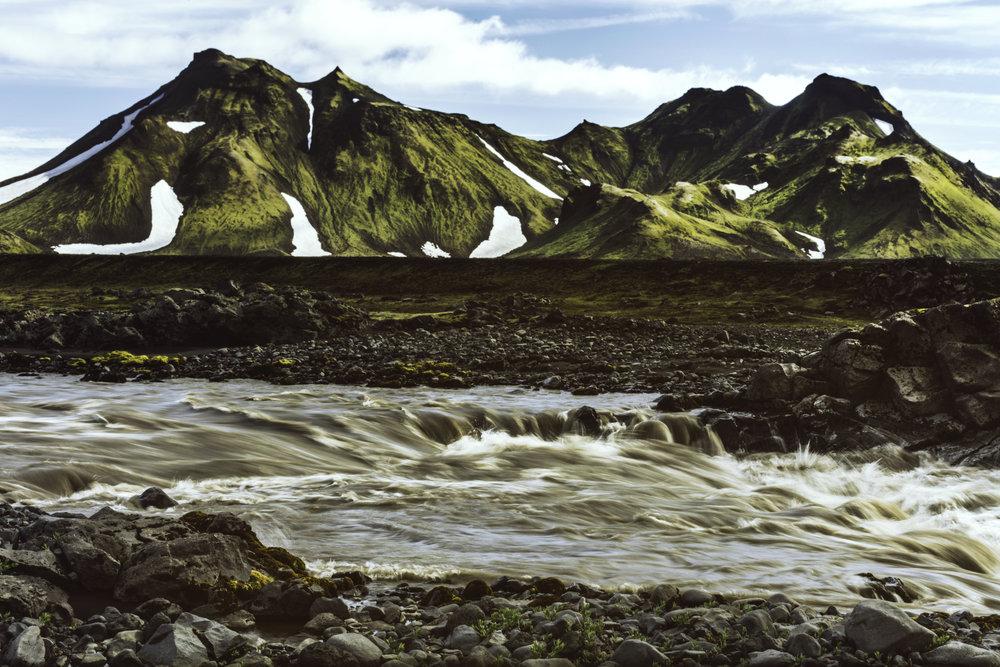 Icelandic Mountains exploring