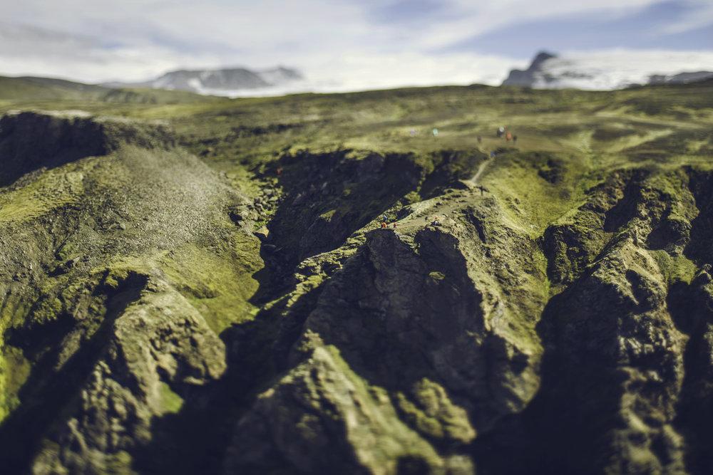 Icelandic Cliff
