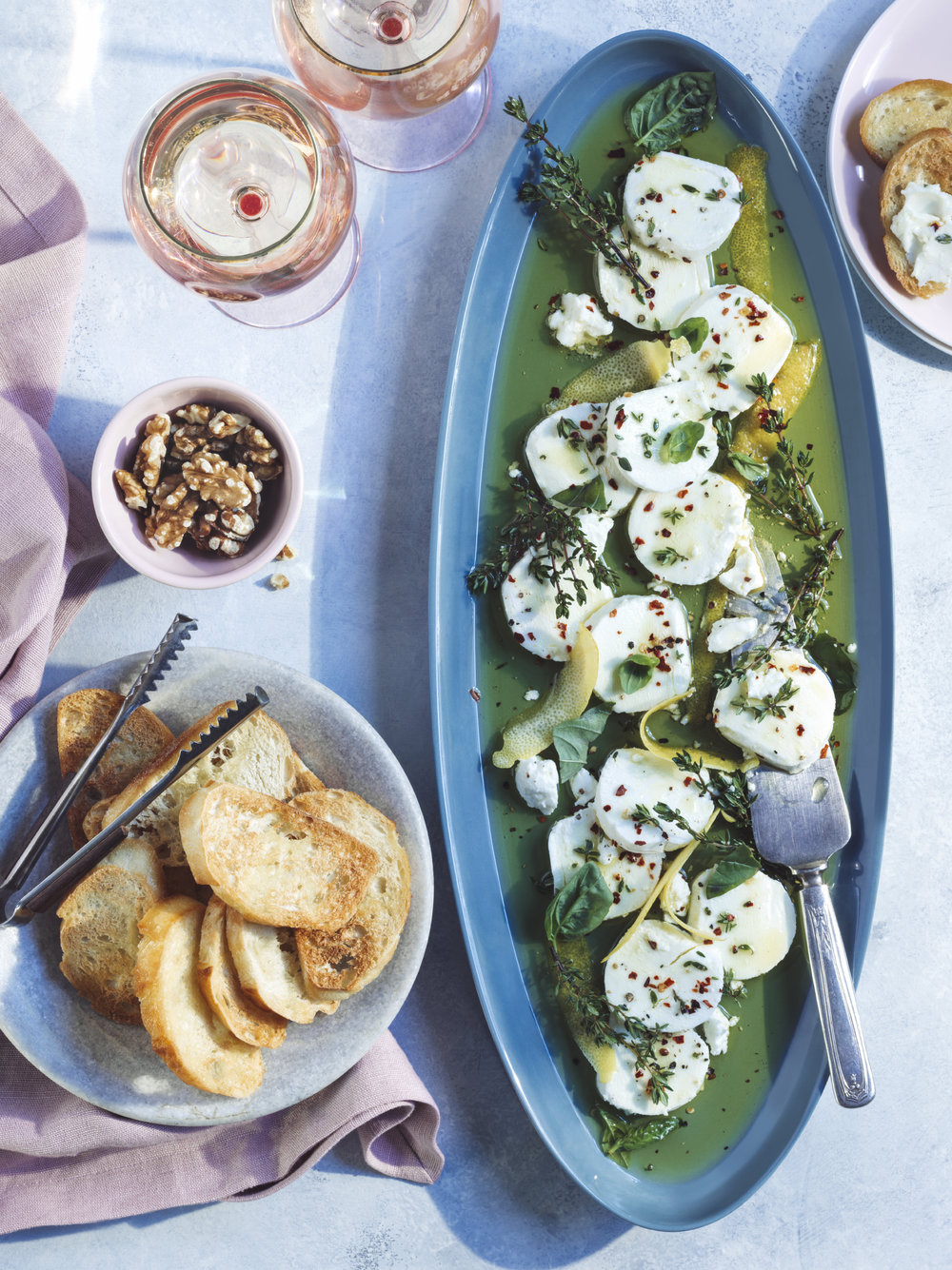Goat cheese appetizer best health magazine entertaining