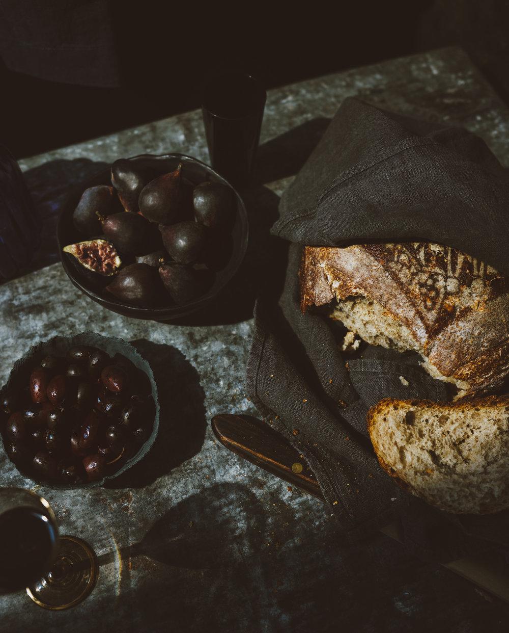 Broken Bread table setting
