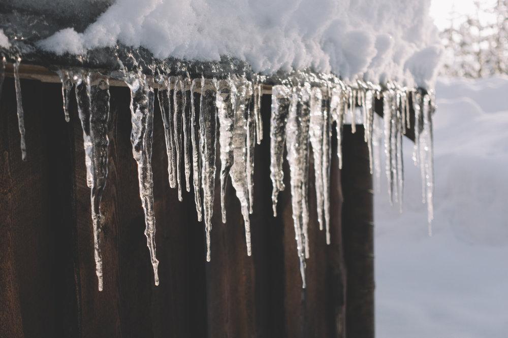 sweeden winter ice cabins travel