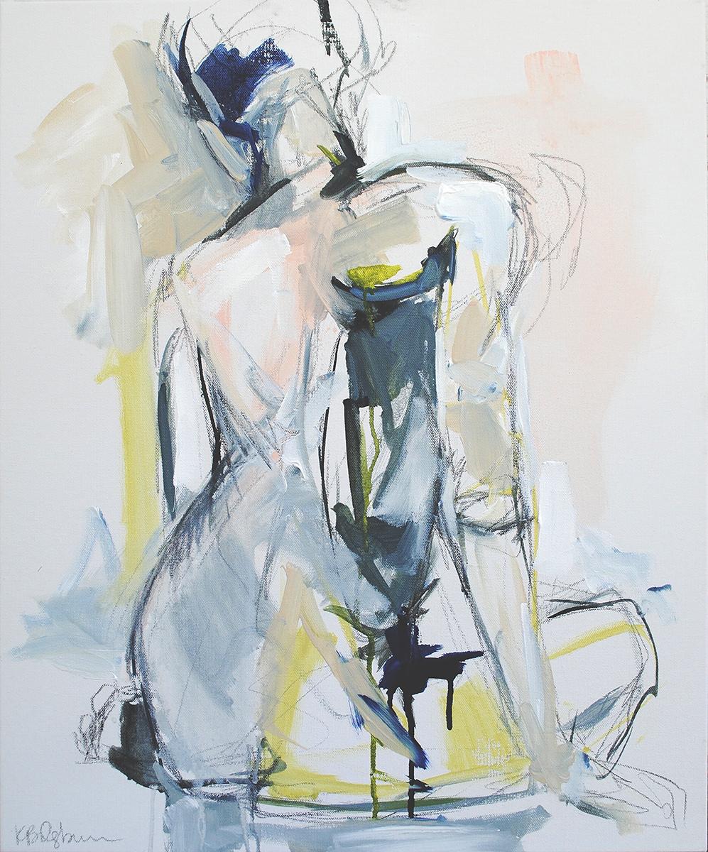 Indigo Shift 20x24 on canvas available through Huff Harrington Fine Art