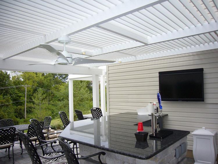 Adjustable Louvered Roofs — MyAmazingYard.com