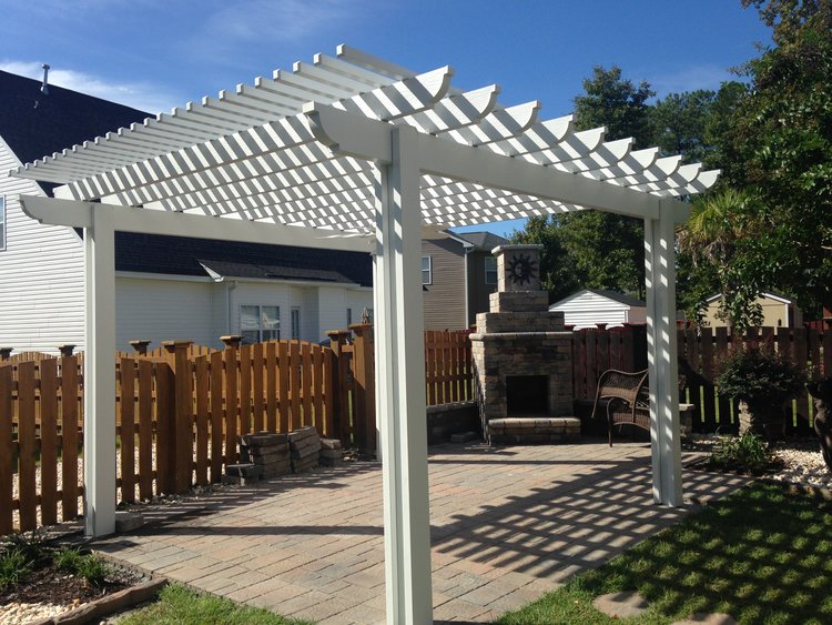 Decorative Pergolas in West Palm Beach FL | My Amazing Yard ...