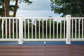 Trex Through and Through Decking backed by our 25-Year Limited Residential Fade & Stain Warranty
