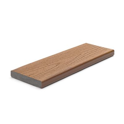 "1"" Square Edge Board   Actual Dimensions  1 in x 5.5 in x 12 ft (24 mm x 140 mm x 365 cm)  1 in x 5.5 in x 16 ft (24 mm x 140 mm x 487 cm)  1 in x 5.5 in x 20 ft (24 mm x 140 mm x 609 cm)  Our square edge boards install traditionally like wood–with deck screws."
