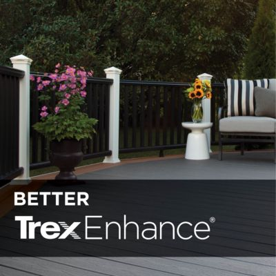 ENHANCE® DECKING Trusted strength deck boards in three versatile colors