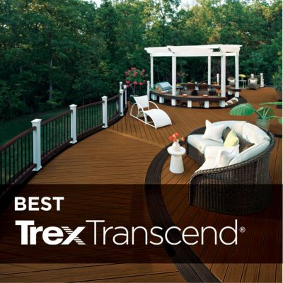 TRANSCEND® DECKING Deck boards that outperform, outlast, and outdeck all others