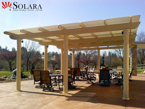 ... Free-Standing-Louvered-Roof-System.jpg ... - Solara Louvered Roofs — MyAmazingYard.com