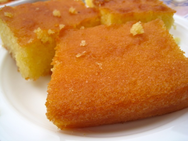 Lemon Honey Cake, Irene's, Folengandros, Greece