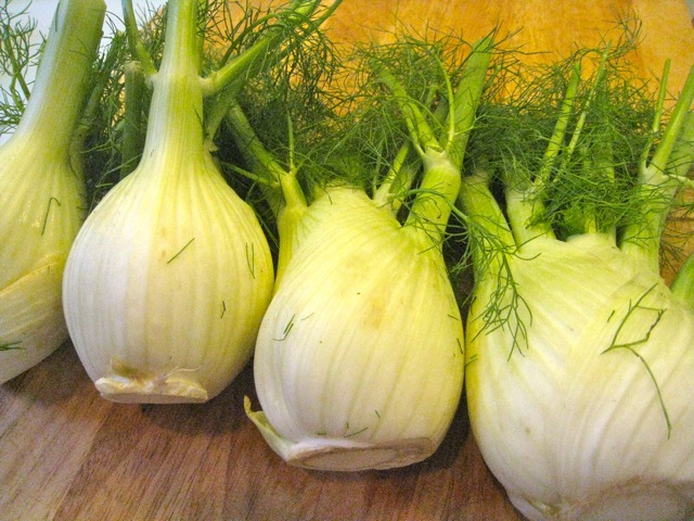 Fennel Before Grilling