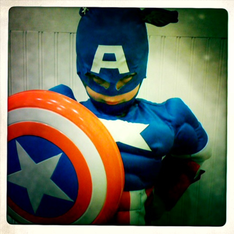 Captain America Birthday Boy