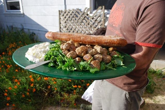 Veral, Ricotta & Porcini Meatballs