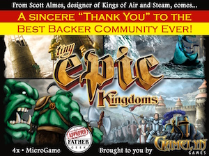 Epic Kingdoms   $286,972 raised