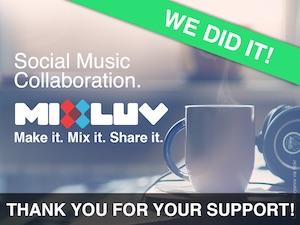 MixLuv $51,950 raised