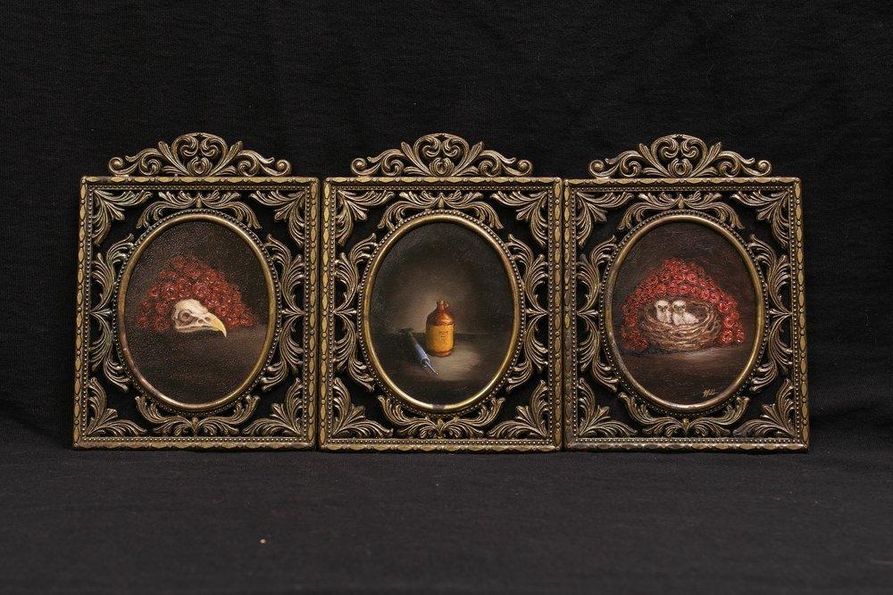 Rebirth Triptych