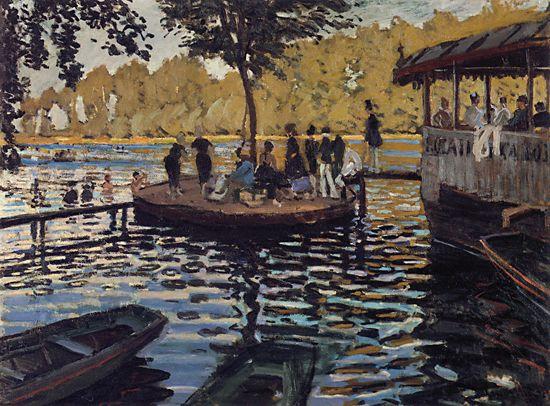 Claude Monet - Bain à la Grenouillère
