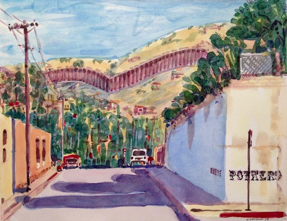 Ellis and Potrero The Wall