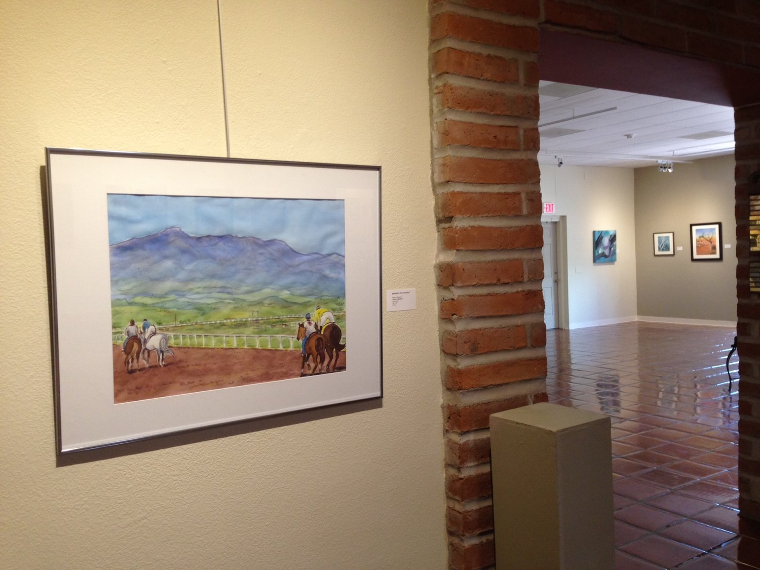 Watercolor art galleries in houston - Races At Sonoita