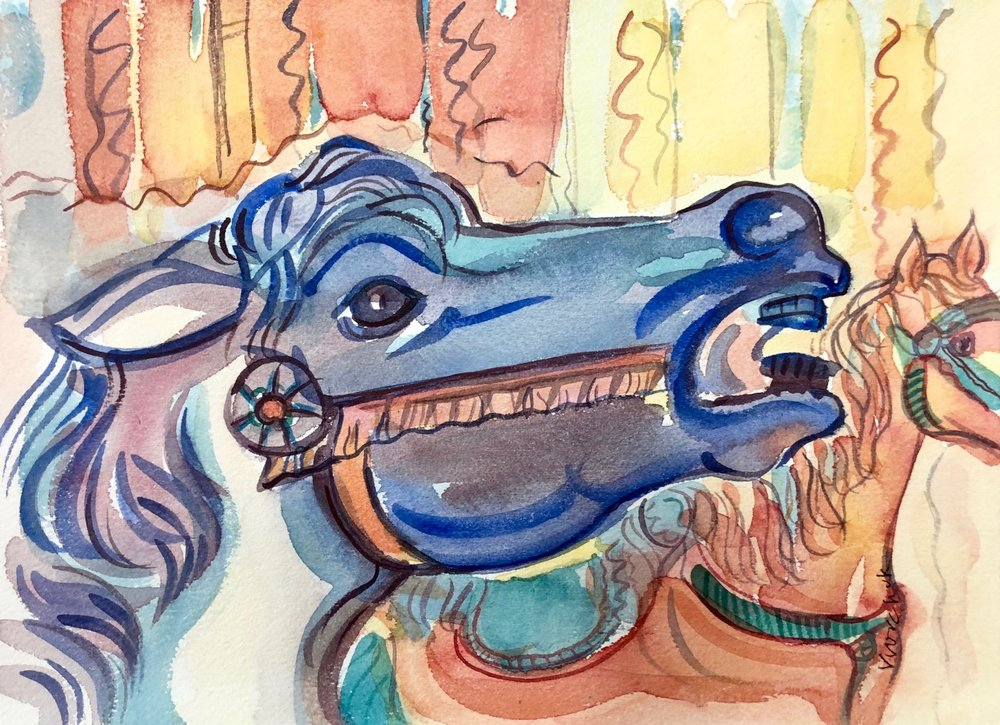 Carrousel Pony