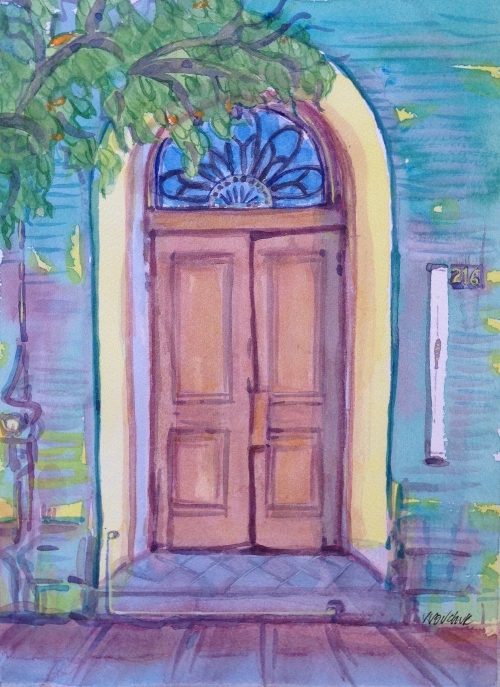 Door, Guaymas
